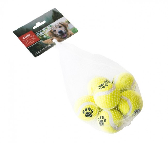 Active Canis Dog Toy Ball 4,5 cm, 6-pack