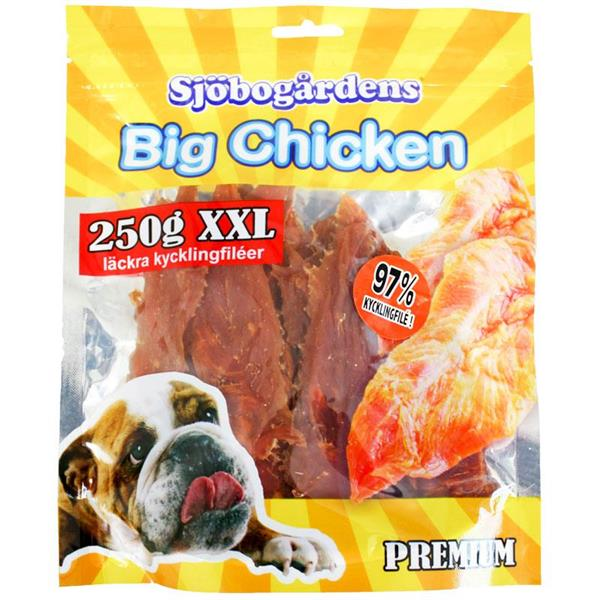 Kyckling file 250g