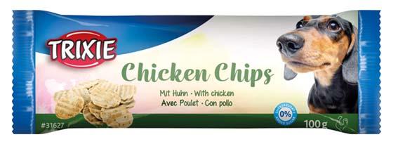 TuggChips med kyckling, ø 4 cm, 100 g
