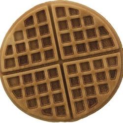Waffles med kyckling, ø 7 cm, 3st/100 g