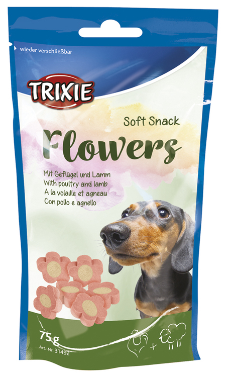 Soft Snack Flowers 75g