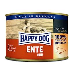 HappyDog konserv, GrainFree, 100% anka 200 g