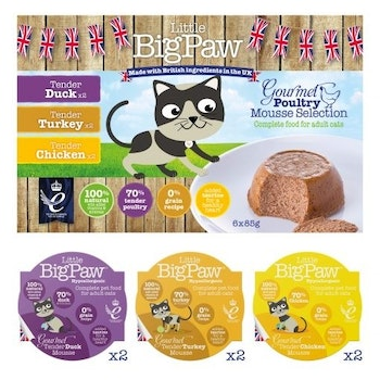 Gourmet Poultry Mousse Selection 85 gram 6pack