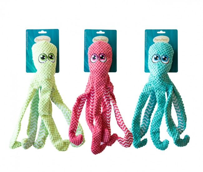 Party Pets Elite Ove the Octopus, 40 cm