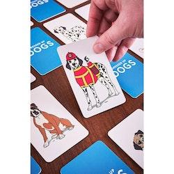 Memoryspel Dress Up Dogs