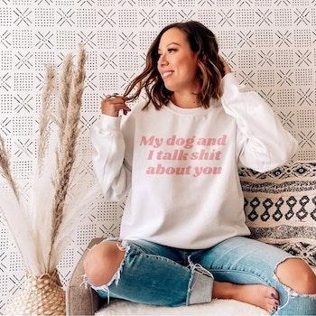 Talk Shit Sweater
