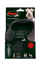 Flexi standard hundkoppel svart