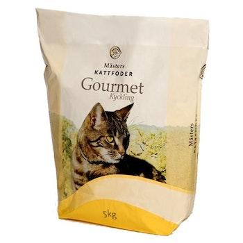 Mästers kyckling Gourmet katt 5kg