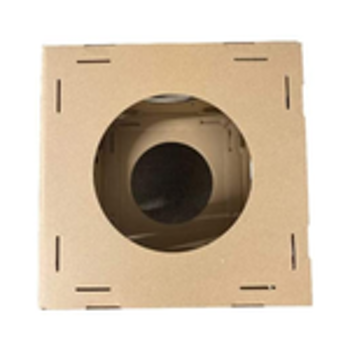 Midlee Cardboard Cat Climbing House Furniture-2 Towers