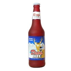 Silly Squeaker Beer Bottle Deers Bite