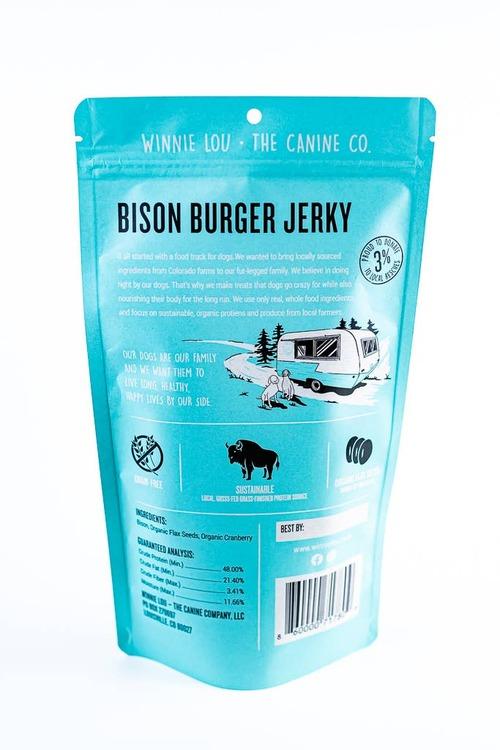 Bison Burger Jerky