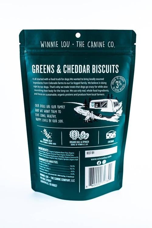 Greens & Cheddar Pretzels