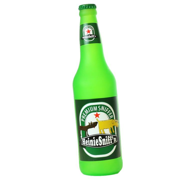 Silly Squeaker Beer Bottle Heinie Sniffn