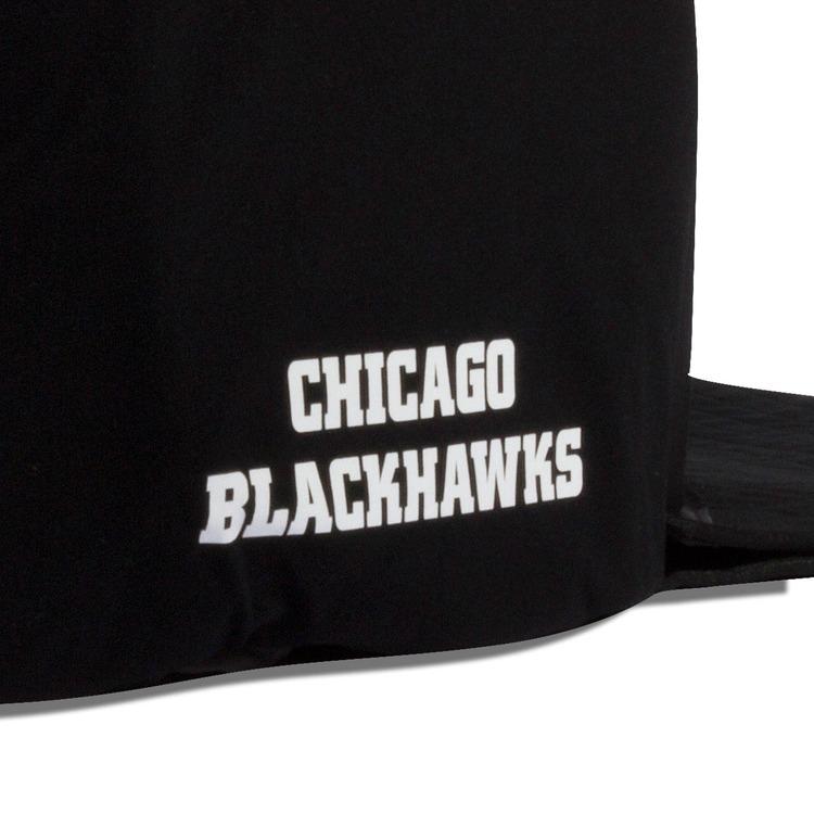 Chicago Blackhawks Nap Cap Plush Dog Bed