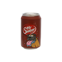 Silly Squeaker Soda Can Mr Slobber
