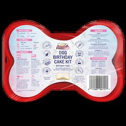 Dog Birthday Cake Kit - Cake Mix, Icing, Sprinkles, Candle