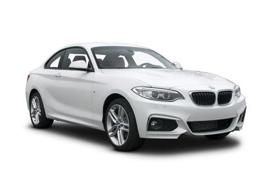 Window tint film for the BMW 2-serie Coupé.