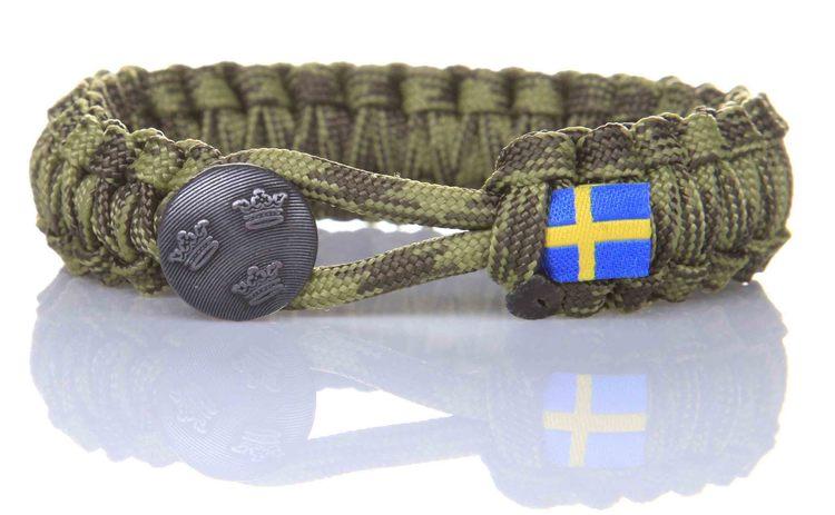 Svensk Soldat M90 Camo - Tre Kronor
