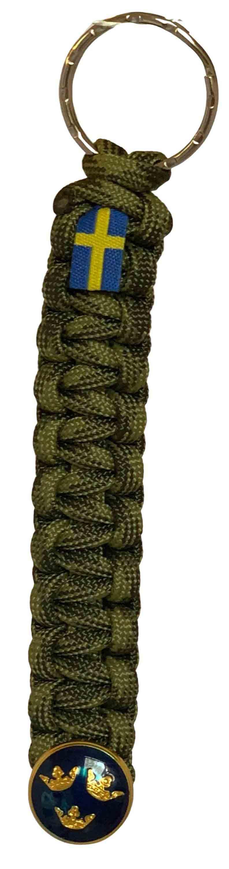 PARACORD NYCKELBAND ROYAL CROWN M90