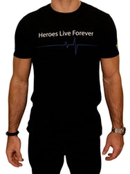 Heroes Live Forever T-shirt