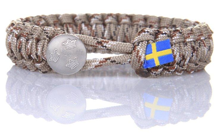 Svensk Soldat Öken Camo - Tre Kronor