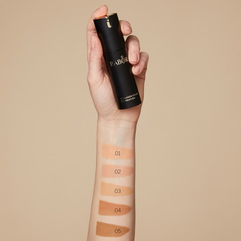 Collagen Deluxe Foundation 05 sunny
