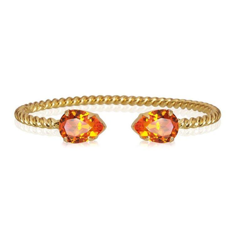 Mini Drop Bracelet / Tangerine
