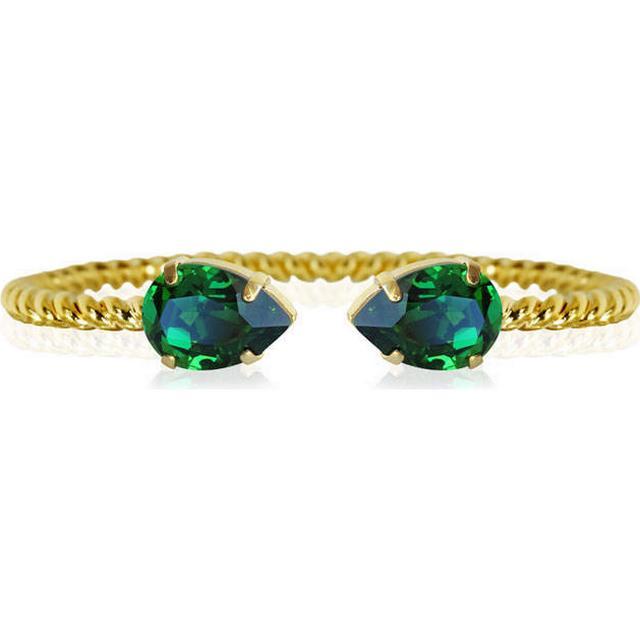 Mini Drop Bracelet /Dark Moss Green