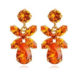 Mini Dione Earring / Tangerine