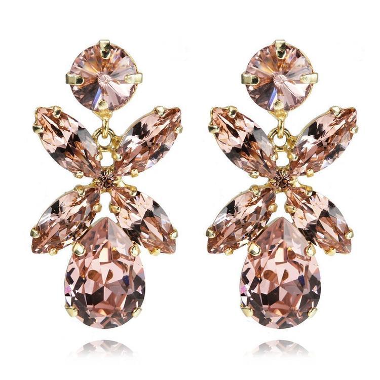 Dione Earrings / Vintage Rose