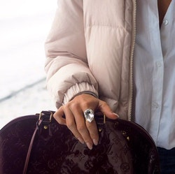 Perfect Drop Ring / Crystal