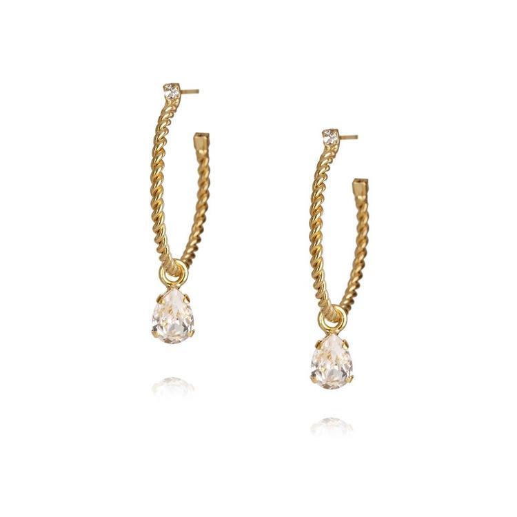 Nani Earrings / Crystal