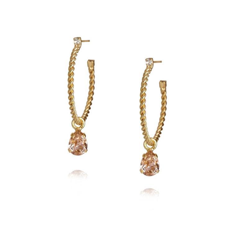Nani Earrings / Vintage Rose