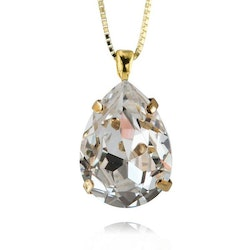 Classic Drop Necklace / Crystal