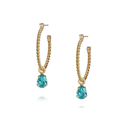 Nani Earrings / Aquamarine
