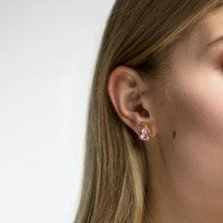 Mini Drop Stud Earrings / Vintage Rose