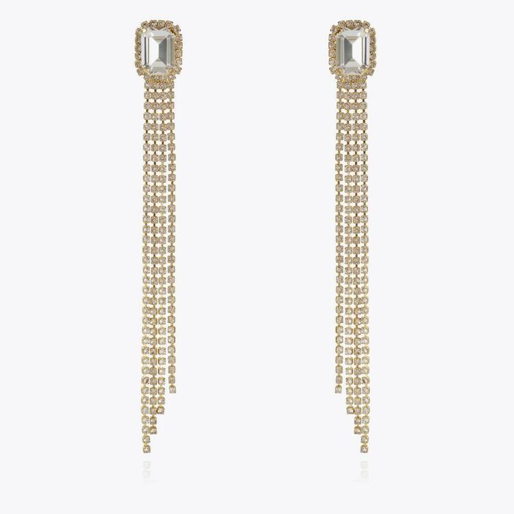 Ivy Earrings / Crystal