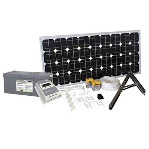 Solpanelspaket 100 W Basic SOLPANELSPAKET 100W 202220