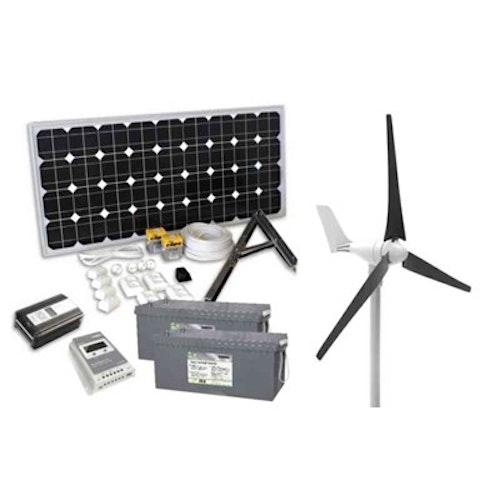 Kombinationspaketet Sol & Vind VIND/SOLCELLSPAKET 400W+100W 202250