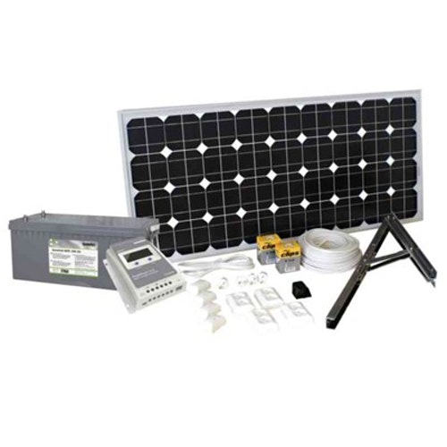 Solpanelspaket 135 W Basic SOLPANELSPAKET 135W 202910