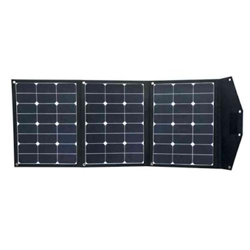 Solpanel vikbar 120W SOLPANEL VIKBAR 120W MAX 6.5A, 1280X560X4 MM, 2.7KG