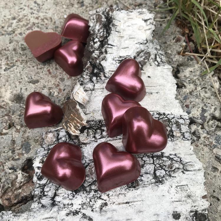 Kärleksasken - med chokladkaka