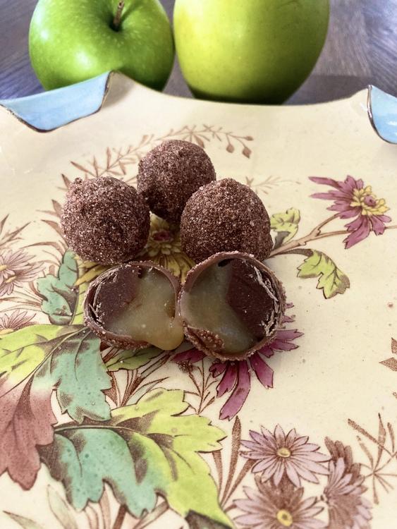 Äppelkaka-kulor