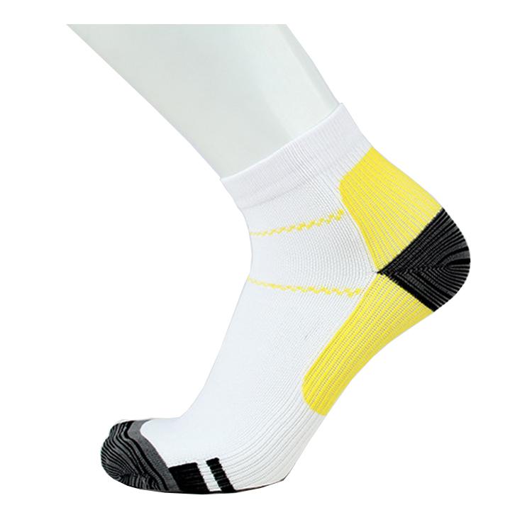 Ankelstrumpor stöd (gul)