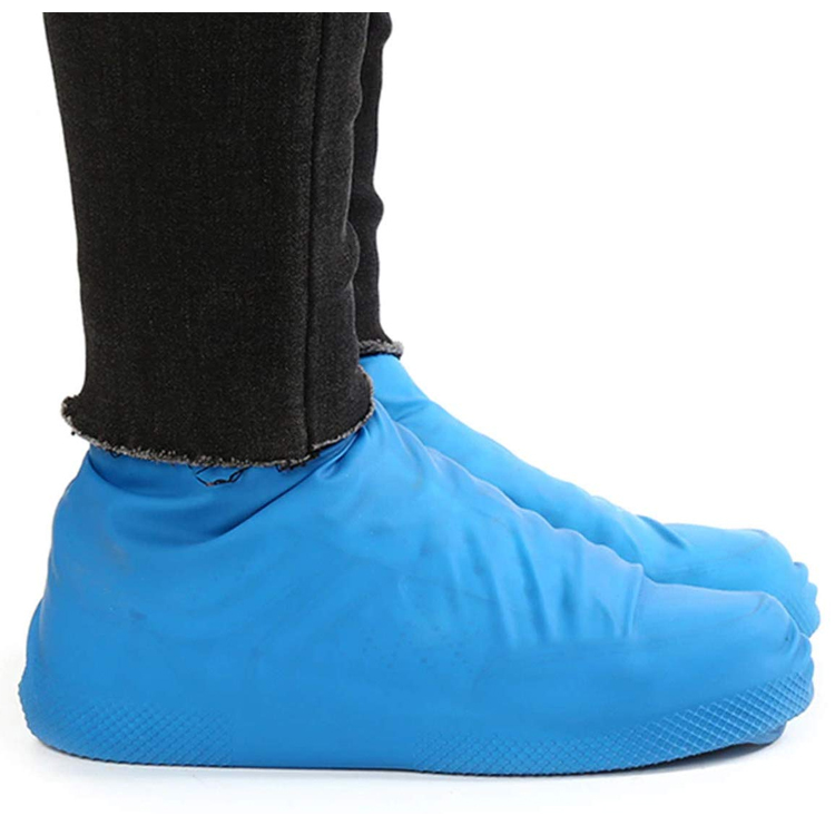 Skoskydd i gummi (blå)