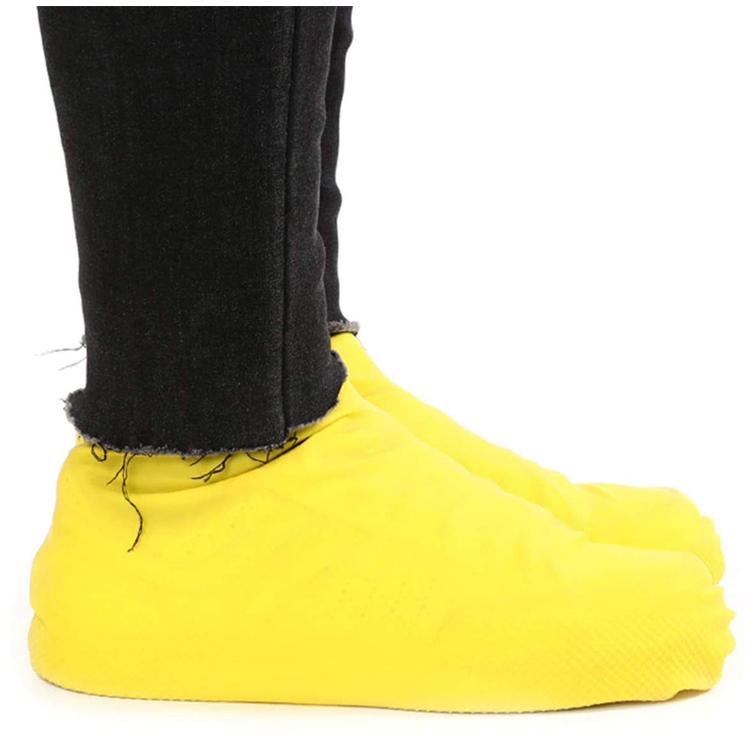 Skoskydd i gummi (gul)
