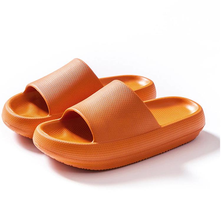 Mjuka tofflor (orange)