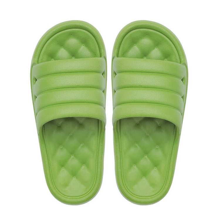 Komfortabla tofflor (grön)