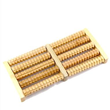 Fotmassage trä (roller)