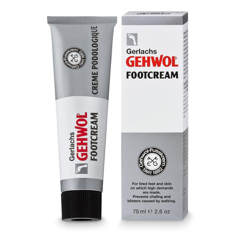 Gehwol fotkräm för belastade fötter